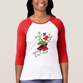 cupid mistletoe Christmas decoration Reindeer T-Shirt