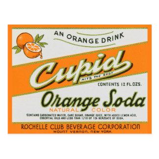 Cupid Orange Soda Postcard