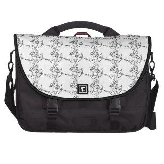 Cupid Pattern Laptop Bag