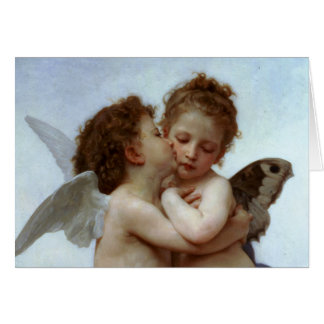 Cupid & Psyche as Children Greeting Card