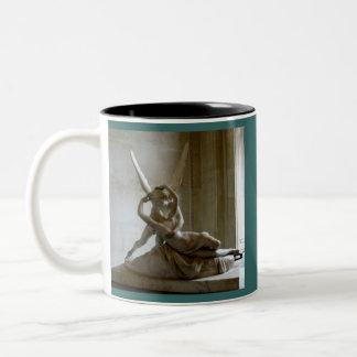 Cupid + Psyche Two-Tone Coffee Mug