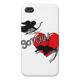 Cupid s Down - GOTCHA iPhone 4 Covers