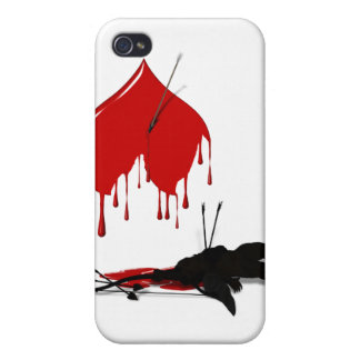 Cupid Shot Down Anti-Valentine iPhone 4/4S Cases