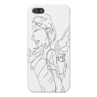 Cupid Sketch Iphone 4 Case
