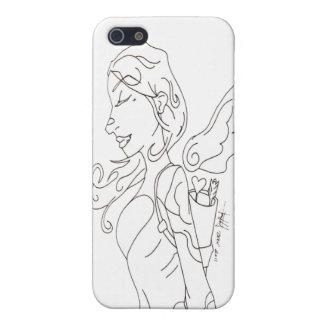 Cupid Sketch Iphone 4 Case
