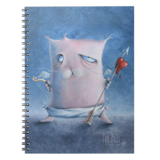 Cupid Square Kat Notebook