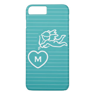 Cupid Strikes custom monogram cases