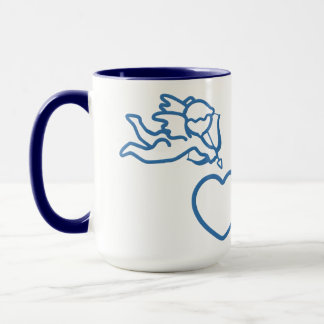 Cupid Strikes custom mug – choose style, color