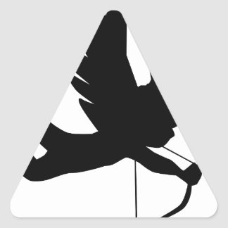 Cupid Triangle Sticker