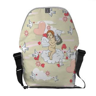 Cupid Valentine Messenger Bags