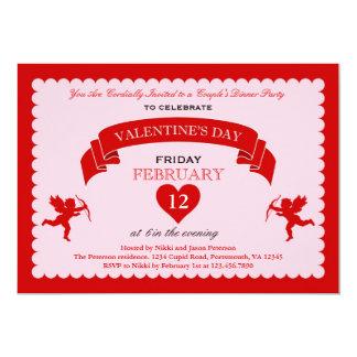 Cupid Valentine's Day Invitation