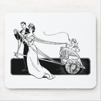 Cupid with a Whip Mouse Pad
