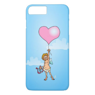 Cupid with harp on Valentine's Day iPhone 7 Plus Case