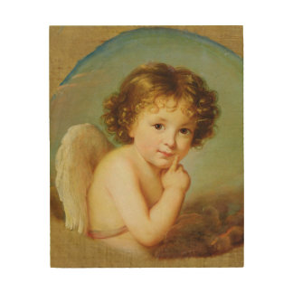 Cupid Wood Wall Decor