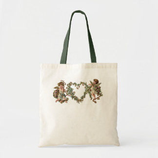 Cupids and Heart - Tote Bags