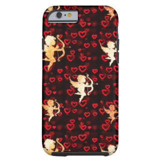 Cupids and Hearts Tough iPhone 6 Case