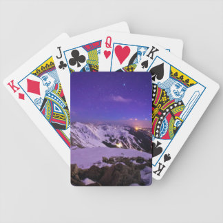 Cupid's Celestial View Bicycle Playing Cards