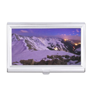 Cupid's Celestial View Business Card Holder