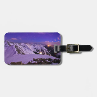 Cupid's Celestial View Luggage Tag