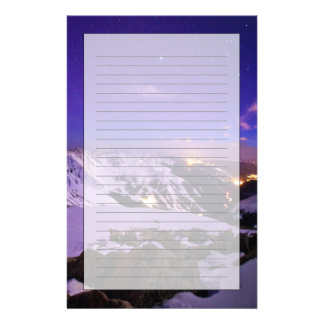 Cupid's Celestial View Stationery