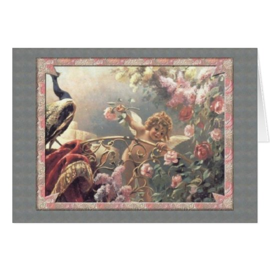 Cupid's Garden - Valentine Card