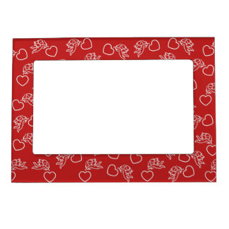 Cupids & Hearts custom color picture frame