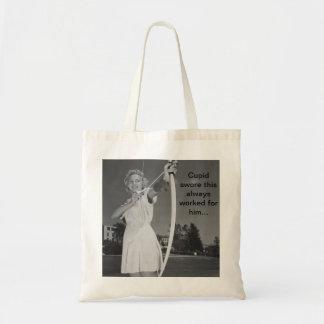 Cupid's little helper tote bag
