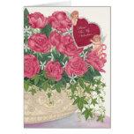 Cupids & Roses Valentine Card