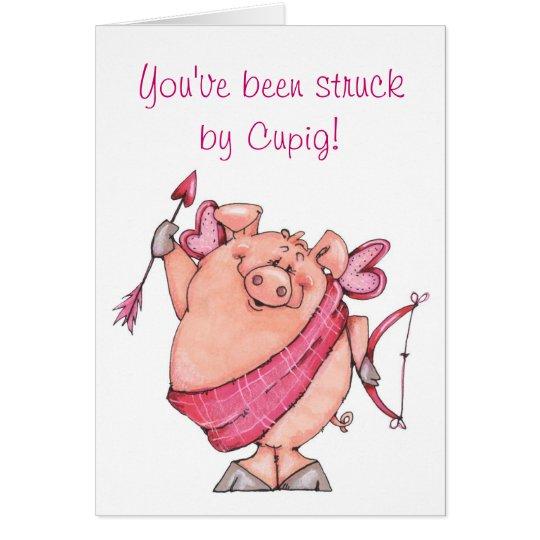 Cupig - Valentine Card