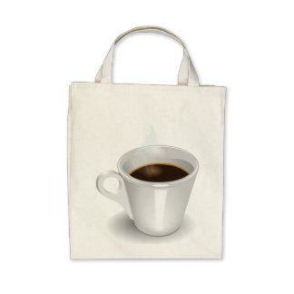 Cuppa Cuppa Burnin' Love Canvas Bags