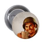 Cuppa Joe 6 Cm Round Badge