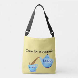 Cuppa Tea Cross Body Bag