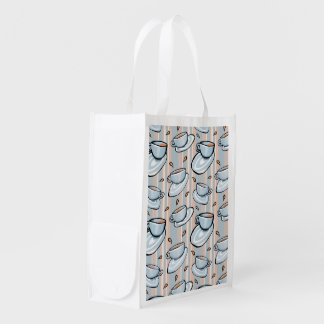 Cups Medley blue Reusable Bag