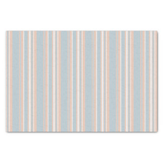 Cups Medley blue stripes 10lb Tissue Paper