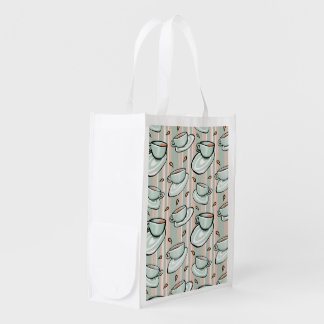 Cups Medley green Reusable Bag