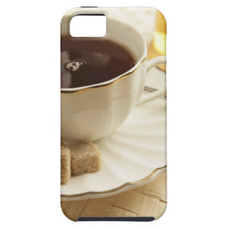 Cups of coffee and sugar. case for the iPhone 5