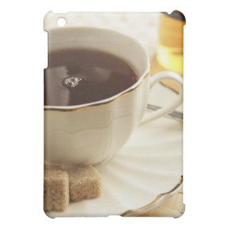 Cups of coffee and sugar. iPad mini case