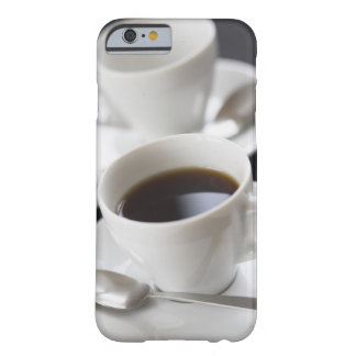 Cups of coffee with saucer barely there iPhone 6 case