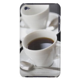 Cups of coffee with saucer barely there iPod case