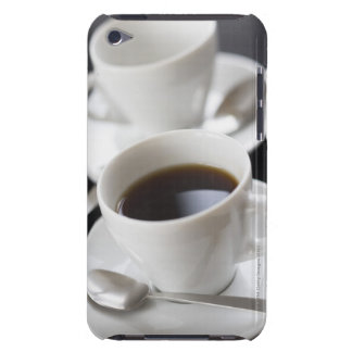 Cups of coffee with saucer barely there iPod cover