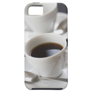 Cups of coffee with saucer iPhone 5 case
