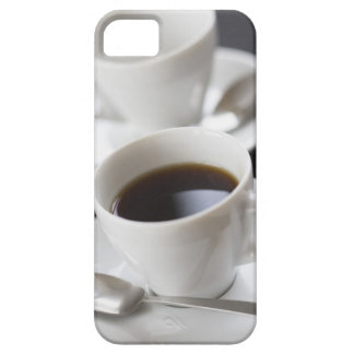 Cups of coffee with saucer iPhone 5 cases