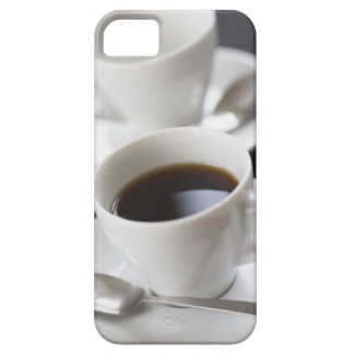 Cups of coffee with saucer iPhone 5 cover