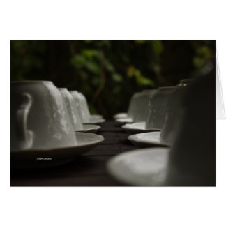 Cups Ready to Serve Card