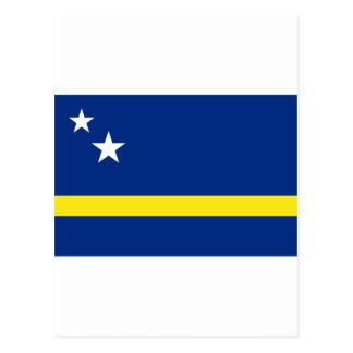 Curacao Flag CW Postcard