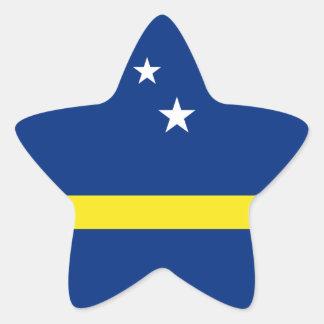 Curacao Flag Star Sticker