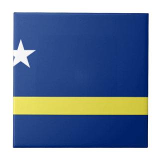 Curaçao Flag Tile