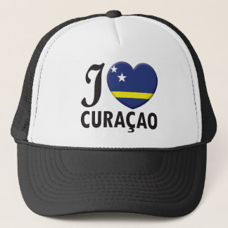 Curacao Love Trucker Hat