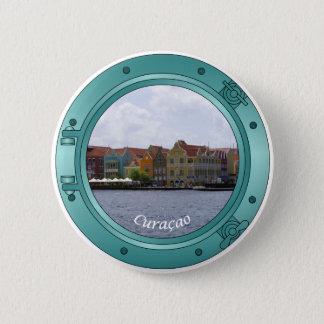 Curacao Porthole 6 Cm Round Badge