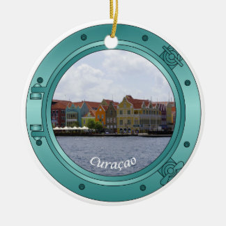 Curacao Porthole Christmas Ornament